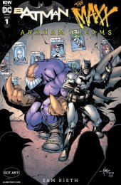 Batman / The Maxx: Arkham Dreams #1 Albert Moy Crees Lee Variant Cover