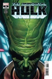 The Immortal Hulk #34 Original Cover