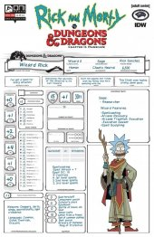 Rick and Morty vs. Dungeons & Dragons II: Painscape #1 Cover D Look Zub