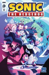 Sonic the Hedgehog #31 1:10 Incentive Variant