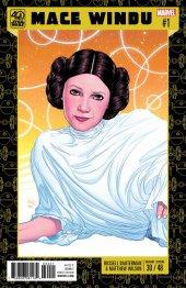 Star Wars: Jedi of the Republic - Mace Windu #1 Dauterman 40th Anniversary Variant