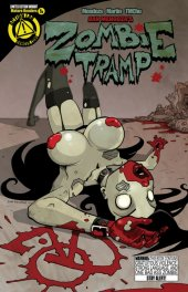 Zombie Tramp #1 AOD Collectables Variant