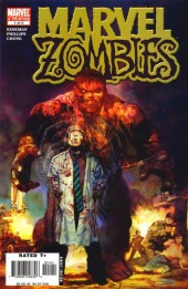 Marvel Zombies #1 4th Printing Hulk