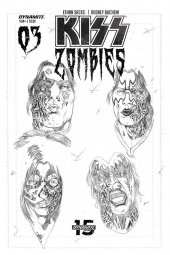 Kiss/Zombies #3 1:11 Incentive