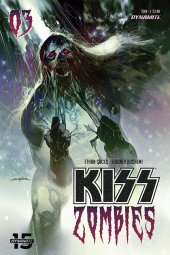Kiss/Zombies #3 Cover B Sayger
