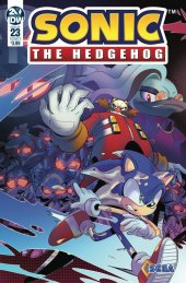 Sonic the Hedgehog #23 Original Cover