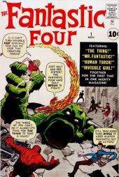 Fantastic Four #1 Original Cover
