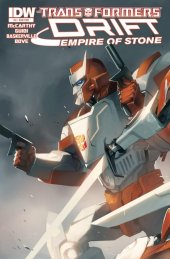 The Transformers: Drift - Empire of Stone #3 Subscription Variant