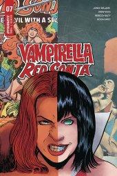 Vampirella / Red Sonja #7 Cover E Moss