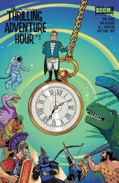 Thrilling Adventure Hour #3 Subscription Bustos Variant