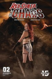 Red Sonja: Age of Chaos #2 Cover E Cosplay