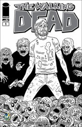 The Walking Dead #1  Wizard World Las Vegas Comic Con VIP Exclusive Sketch Variant