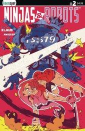 Ninjas & Robots #2 Cover D Lankry