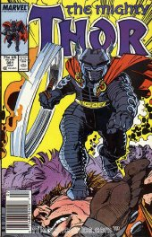 The Mighty Thor #381 Newsstand Edition
