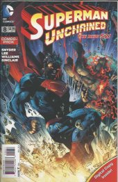 Superman Unchained #8 Combo-Pack Variant