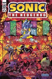 Sonic the Hedgehog #25 1:25 Incentive Variant