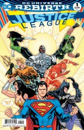 Justice League #1 Variant Edition