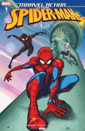 Marvel Action: Spider-Man #1 Heroes and Fantasies Tim Lim Cover