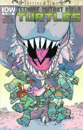 Teenage Mutant Ninja Turtles: Turtles in Time #1 Subscription Variant