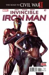 Invincible Iron Man #7 Original Cover