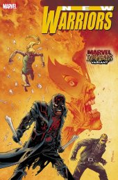 New Warriors #1 Shalvey Marvel Zombies Variant