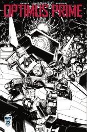 Optimus Prime #22 RI Cover