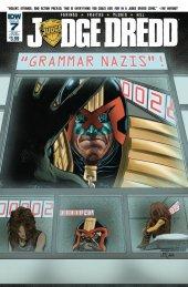 Judge Dredd #7 Subscription Variant