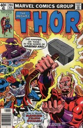 The Mighty Thor #286 Newsstand Edition