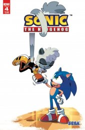 Sonic the Hedgehog #4 second print variant