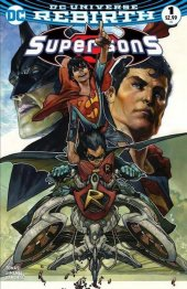Super Sons #1 7Ate9  Comics Exclusive Simone Bianchi Variant