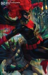Detective Comics #1027 Batman & Batwoman Variant by Stanley Artgerm Lau