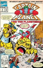 Captain Planet and the Planeteers #4