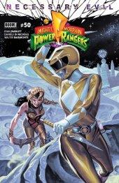 Mighty Morphin Power Rangers #50 Torpedo Comics Exclusive Yellow Ranger Variant