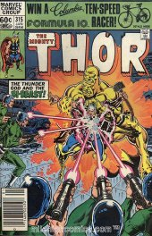 The Mighty Thor #315 Newsstand Edition