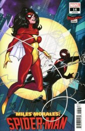Miles Morales: Spider-Man #16 Spider-Woman Variant Cover