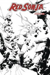 Red Sonja #17 1:30 Lee B&w Cover