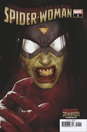 Spider-Woman #2 Oliver Marvel Zombies Variant