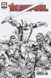 Deadpool #1 1:100 David Finch Sketch Variant
