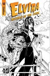 Elvira: Mistress of the Dark #12 Cover F 1:20 Royle B&W