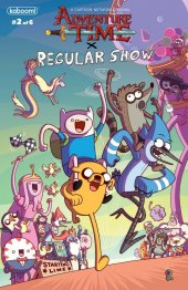Adventure Time / Regular Show #2 1:10 Jason Ho Cover