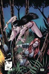 Vampirella / Red Sonja #8 Gorham Ltd Virgin Homage Cover