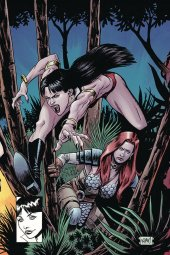 Vampirella / Red Sonja #8 Gorham Ltd Virgin Homage Cover