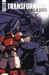 Transformers: Galaxies #5 1:25 Incentive