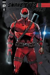 Snake Eyes: Deadgame #2 Rob Liefeld Red Variant