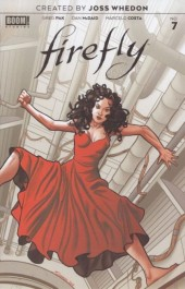 Firefly #7 Pre-Order Quinones Cover Variant
