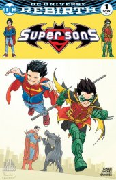 Super Sons #1 The Hall of Comics Exclusive Frank Quitely Color Variant