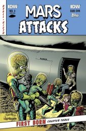 Mars Attacks: First Born #3 Subscription Variant