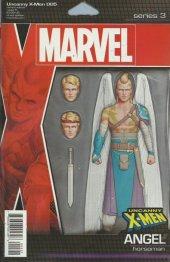 Uncanny X-Men #5 Christopher Action Figure Variant