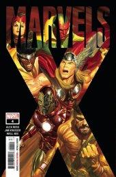 Marvels X #4 Original Cover