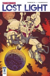 Transformers: Lost Light #2 SUB-B Cover